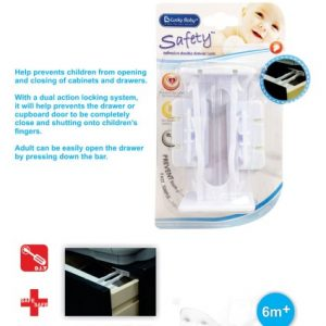 Double Drawer Lock Lucky Baby 9200