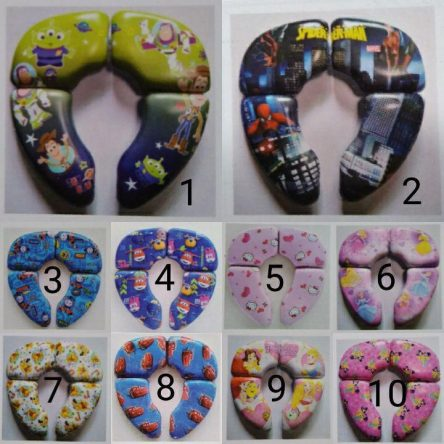 Folding Potty Seat Karakter Baby Grow