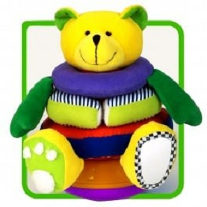 Soft Stacking Activity Bear