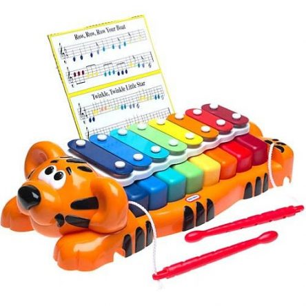 Jungle Jamboree Tiger 2in1 Piano